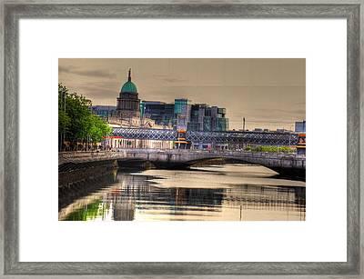 Dublin Framed Print by Barry R Jones Jr