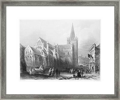 Dublin: St. Patricks Framed Print