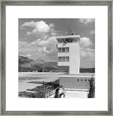 Dubrovnik Airport Framed Print