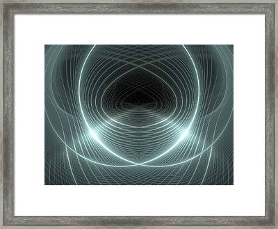Dubstep 9 Framed Print by Michele Caporaso