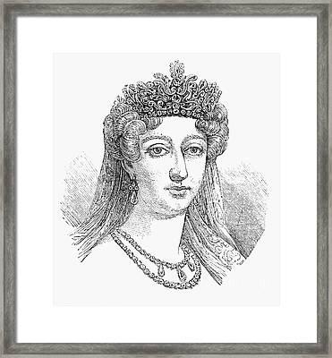 Duchess Of Angoul�me Framed Print by Granger