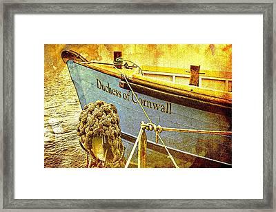 Duchess Of Cornwall Framed Print