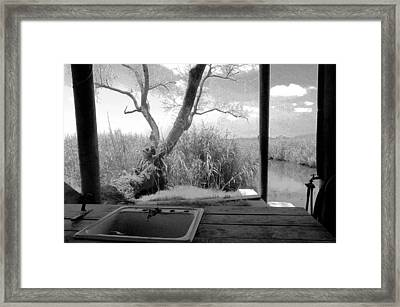 Duck Camp Framed Print by Rdr Creative