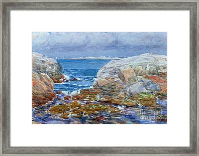 Duck Island Framed Print by Childe Hassam