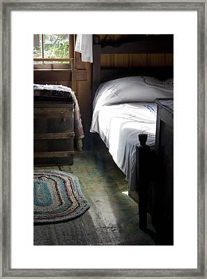 Dudley Farmhouse Interior No. 1 Framed Print