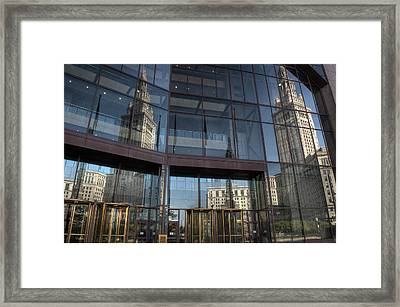 Dueling Reflections Framed Print by At Lands End Photography