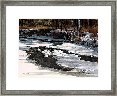 Duffins Creek II Framed Print