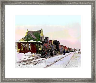 Duluth And Iron Range Railroad Framed Print by Charles Shoup