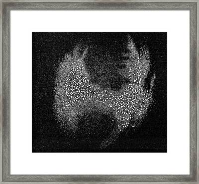 Dumb-bell Nebula, 19th Century Artwork Framed Print by