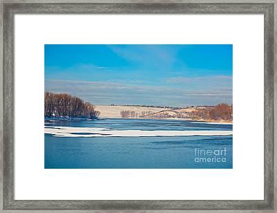 Dumbrava Lake Framed Print by Gabriela Insuratelu
