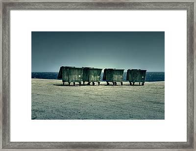 Dumpster Framed Print by Joana Kruse