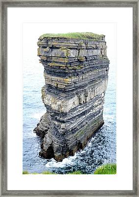 Dun Briste Framed Print