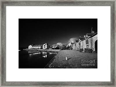 Dundrum Bay Shoreline Quay County Down Northern Ireland Framed Print