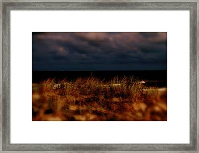 Dune Effect Framed Print by Joe  Burns