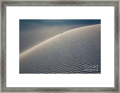 Dune Framed Print by Keith Kapple