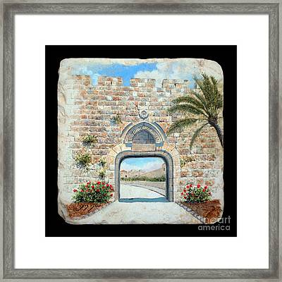 Dung Gate  Framed Print