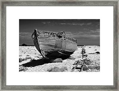 Dungeness Decay Framed Print