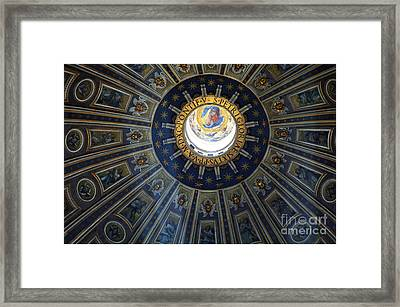 Duomo St Peters Framed Print
