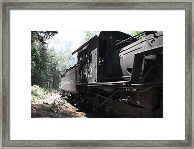 Durango Angles Framed Print by Cynthia  Cox Cottam
