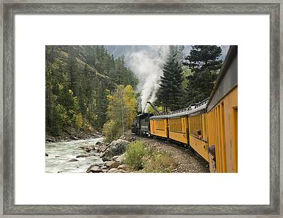 Durango-silverton Train - 1161 Framed Print