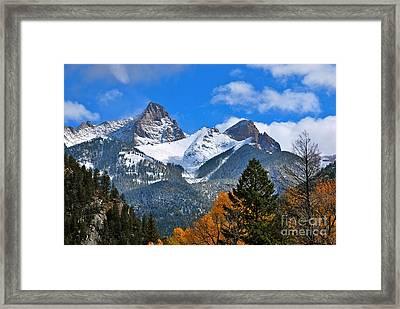 Durango To Silverton  Framed Print