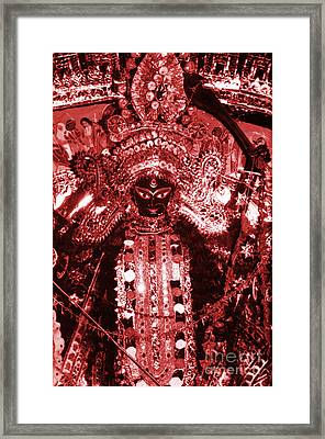 Durga Framed Print by Photo Researchers