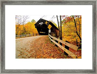 Durgin Bridge Framed Print by Catherine Reusch Daley