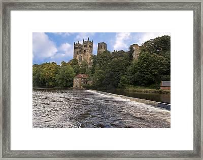 Durham Cathedral Framed Print by Trevor Kersley