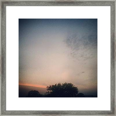 Dusk... #andrography #nexuss #random Framed Print by Kel Hill