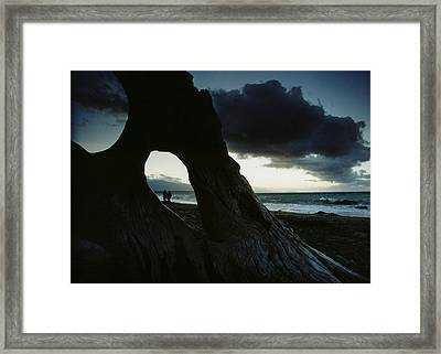 Dusk At Dungeness Framed Print