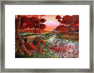 Dusk Framed Print by Ayan  Ghoshal