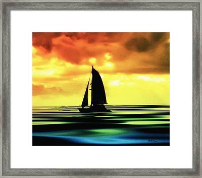 Dusk Framed Print by Bill Cannon