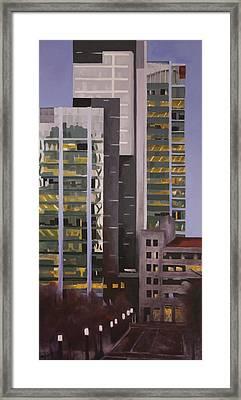 Dusk Framed Print by Duane Gordon
