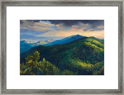 Dusk Framed Print by Jonathan Howe