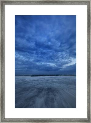 Dusk On Fire Island Framed Print by Rick Berk