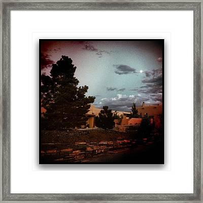 Dusk On My Street Framed Print by Paul Cutright
