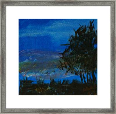 Dusk Til Dawn Framed Print