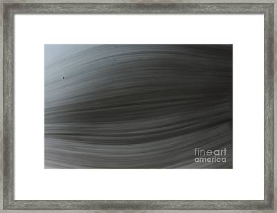 Dust In The Wind Framed Print by Kim Henderson