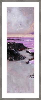 Dusty Framed Print by Laura Lee Zanghetti