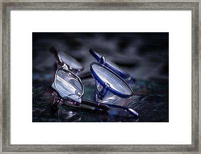 Dusty Reflections Framed Print