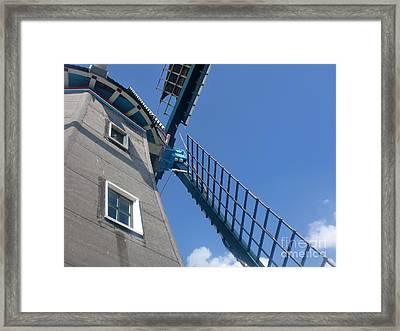 Dutch Windmill Framed Print by Anastasis  Anastasi