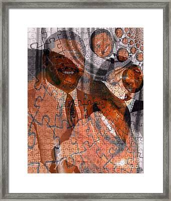 Duvalier Et Bennette  Framed Print