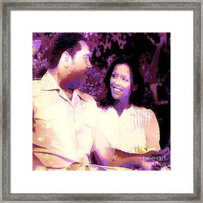Duvalier's Love And Power Framed Print