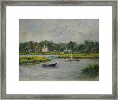 Duxbury Calm Framed Print