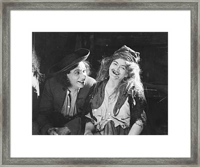 D.w. Griffith: Film, 1922 Framed Print