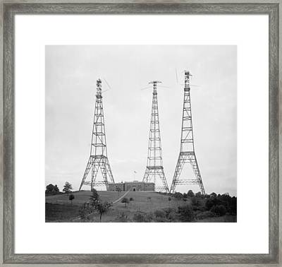 Dwarfing The Substantial Building Framed Print