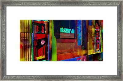 Dwellings Iv Framed Print by Mathilde Vhargon