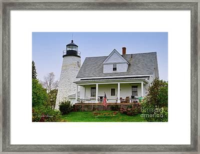 Dyce Head Lighthouse Framed Print