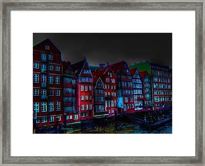 Dyke Road  -  Hamburg Framed Print by EricaMaxine  Price