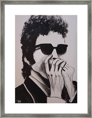 Dylan Framed Print by Pete Maier